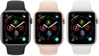 Apple Watch Series 4 40mm 44mm GPS + Cellular 4G LTE - Gold Space Gray Silver