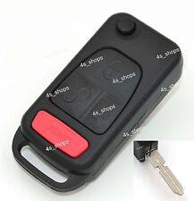 Flip Folding Remote Key Shell Case For MERCEDES BENZ ML320 ML500 C220 C230 E420