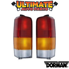 Tail Light Lamp (Left and Right Set) Lights Lamps for 97-01 Jeep Cherokee XJ Spo