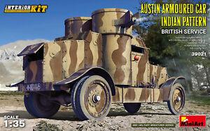 MIN39021 - Miniart WWI 1:35 - Austin Armored Car (Indian / British)