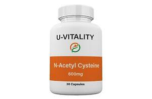 Buy 2 get 1 FREE Foods NAC N Acetyl Cysteine 600mg Free Shipping