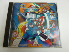 USED SONY Playstation GAME ROCKMAN MEGAMAN X 4 SFC Japan