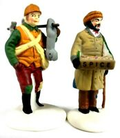 Dept 56 Heritage Village Collection Village Street Peddlers #58041
