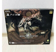 Used PlayStation 4 Pro Console MONSTER HUNTER WORLD LIOLAEUS EDITION PS4