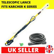 More details for 3.6m 12ft telescopic lance m22 karcher k-series pressure washer & 10m hose