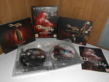 Demon's Souls-Black Phantom Edition UK ps3 ARTBOOK strategia guide TECNO DARK