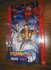 KRAVEN with Spider-Trap Bolo Gun! Spider-Man Classics! Toy Biz! RARE! Marvel