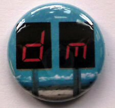Depeche Mode 25mm Pin Badge DM8