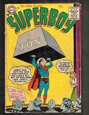Superboy #44 ~ Lana Lang Exposes Superboy/ SB Costume ~ 1955 (3.5) WH