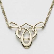 Scottish Ola Gorie Sterling Silver 925 Tudor Necklace Pendant Celtic Knot