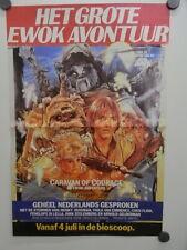 DUO Poster NL weekblad 1985 / ca.A3 / Ewok - Police Academy 2 (e-03051)