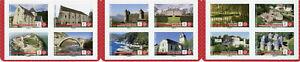 France Architecture Stamps 2019 MNH Castles Churches Bridges 12v S/A Booklet