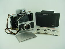 Polaroid 180 Professional Land Camera w/ 114mm F/4.5 Tominon - Film Tested !
