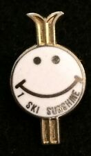 I SKI SUNSHINE Village Skiing Pin Calgary Alberta CANADA Resort Travel Lapel