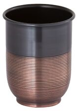 Gramercy Accents, Tumbler, Heavyweight Brass, Oil Rubbed Bronze Finish