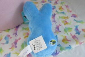 "6"" PEEPS ~JUST BORN BUNNIES Plush Blue Rabbit  Stuffed Animal"