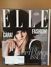 Cara Delevingne Elle Magazine September 2016 GIANT fashion edition