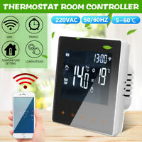 Smart WiFi Programmable Thermostat Digital Temperature Controller Remote Control