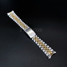 20 MM President jubilee Watch Band Bracelet Fits for Rolex Stainless Silver Gold