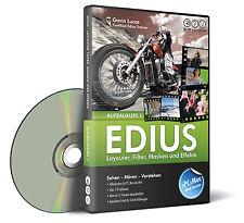 DVD aprendizaje por construcción EDIUS curso 1-filtros y efectos