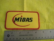 Midas Mufflers And Brakes Service Uniform  Hat Patch