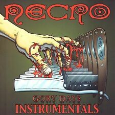 Gory Days [Instrumentals by Necro CD, Jan-2003, Psycho+Logical-Records BRAND NEW