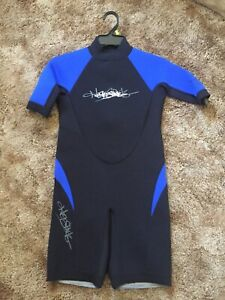 Ho Sports Junior Wet Suit Youth 12 Blue & Black Neoprene Wetsuit - New w/ Tags!