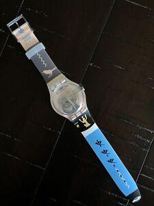 Swatch Custom One-of-a-kind Swatch X You Egyptian Theme Osiris Style