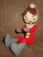 Pixie Elf Christmas Holiday Doll Decoration - Made in Japan - See Photos