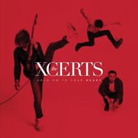 THE XCERTS - HOLD ON TO YOUR HEART   CD NEW!