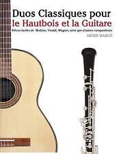 Duos Classiques Pour le Hautbois et la Guitare : Pièces Faciles de Brahms,...