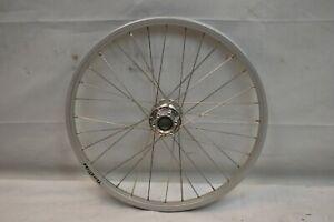 "Terra Trike Rear 20"" Recumbent Wheel Silver Hub Mount Disc 32S 20mm AV Charity!!"