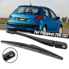 Peugeot 206 207 Upgrade Rear Window Windshield Windscreen Wiper Arm & Blade Set