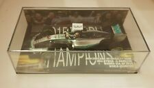 Minichamps 1/43 Mercedes AMG Winner USA 2015 WORLD CHAMPION L. Hamilton
