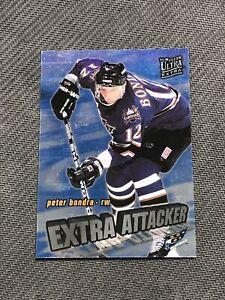 1995-96 FLEER ULTRA EXTRA PETER BONDRA EXTRA ATTACKER PARALLEL #1