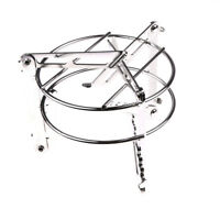 Folding Portable Stove Holder Bracket Camping Cooking Picnic BBQ Accessories