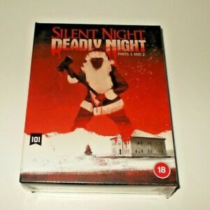 Silent Night Deadly night 1 & 2 blu ray Box set Region B New & Sealed 101 films