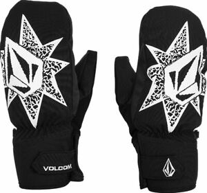 2021 NWT MENS VOLCOM VCO NYLE MITTENS $50 M black 2-layer shell 80g insulated