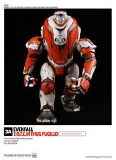 EVENFALL T.O.T.E.M. THUG PUGILLO 1/6 THREEA 3A  Ashley Wood TOTEM Iron Man robot