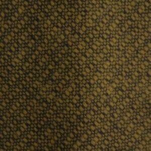 Gold Black Wool Tie