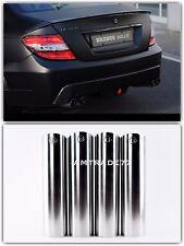 Mercedes BRABUS Style Exhaust Pipe Tips Black C,E,ML,GL,S class Set 4 PCS