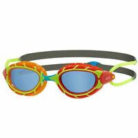 Zoggs Predator Junior 6-14 Years Swim Goggles FINA Swimming Approve