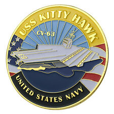 U.S. Navy USS Kitty Hawk / CV-63 GP Challenge Coin 1127#
