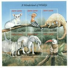 VINTAGE CLASSICS - Sierra Leone Wildlife - Sheet Of 6 - MNH