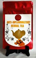 Herbal Anti-Inflammatory tea  Ashwagandha powder, Turmeric, Cinnamon, Ginger,