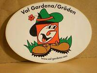 ADESIVO - VAL GARDENA / GRODEN - cm 10 x cm 7 circa - nuovo