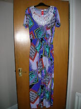 NEW WITH TAGS LADIES 14 16 18 XL XXL MAXI DRESS SUMMER HOLIDAY PARTY NIGHT OUT
