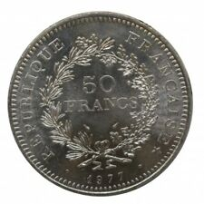 1977 FRANCIA 50 FRANCS  ARGENTO SILVER - MF29130