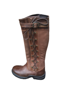 Campus Equine Country/Riding Boots Long/Walking Leather Horse Waterproof UK 6/39