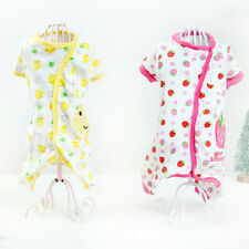 Pet Dog Cotton Pajamas Small Puppy Cat Jumpsuit Warm Indoor Home Costume Clothes